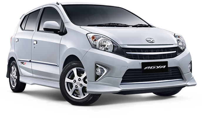 sewa mobil murah Toyota Agya di bali