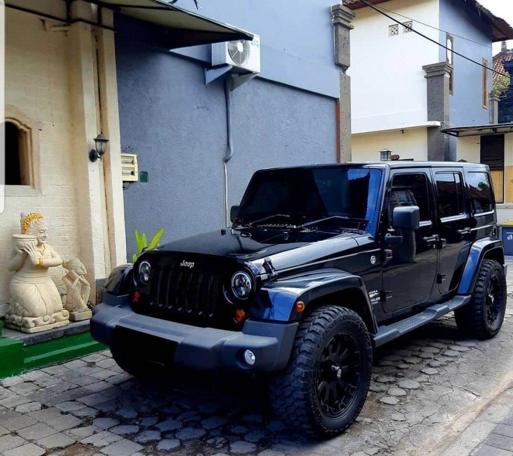 Sewa Jeep Rubicon Bali